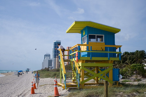 Life Guards at North Beach Miami | by ksfoto