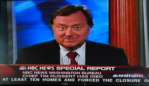 Tim Russert dies at age 58. R.I.P. -- You will be greatly missed. | by KRISnFRED