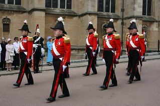 The Military Knights of Windsor in the Garter Procession   by Niquinho