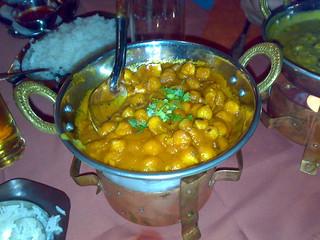 Abendessen bei Ashoka