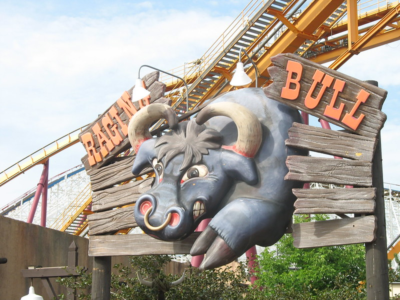 Raging Bull at Six Flags Great America