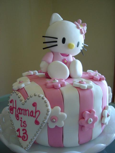 Hello Kitty Birthday Cake.Hello Kitty Birthday Cake Pretty Girly Cake Julie Flickr