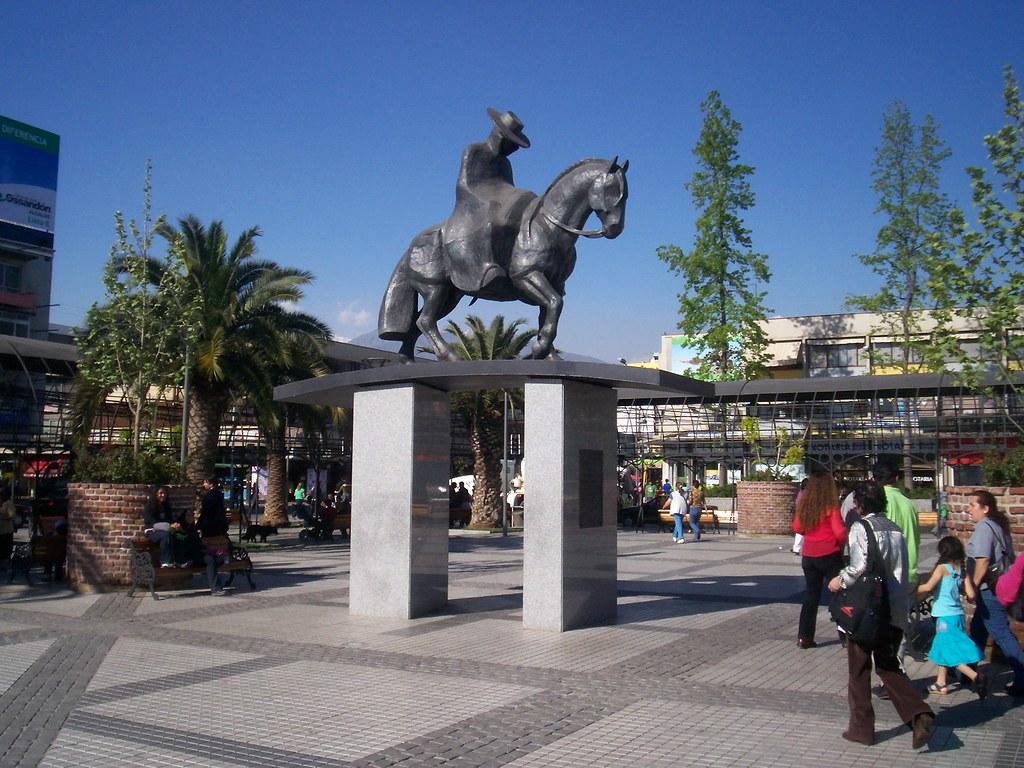 Plaza de Puente Alto | Vista de la Plaza de Puente Alto ...