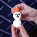 How to make a Japanese snowman (a.k.a. Yuki Daruma)