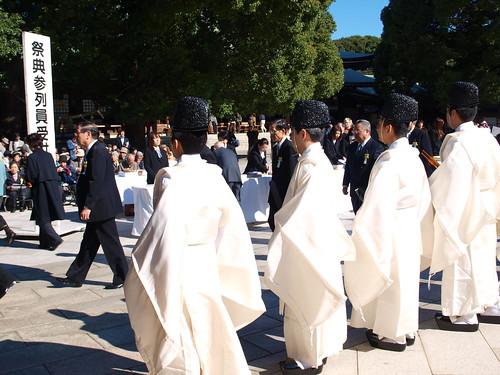 Matsuri(例祭, 秋の大祭) at Meiji Shrine(明治神宮), Tokyo