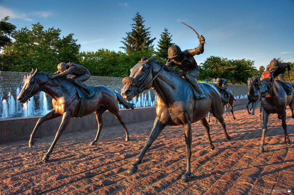 Thoroughbred Park, Lexington Kentucky by David Alan Robillard