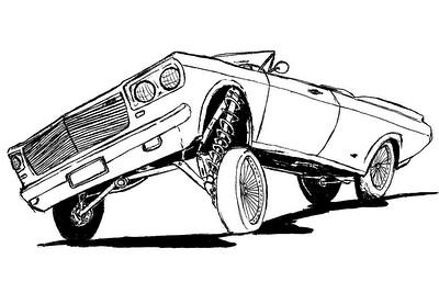 Desenhos De Carro Lowrider Carros Animado Para Colorir Car Flickr