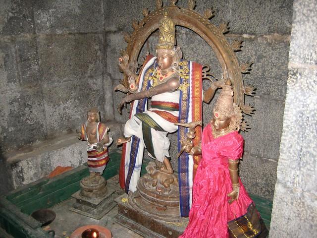Natarajar inside the sanctum