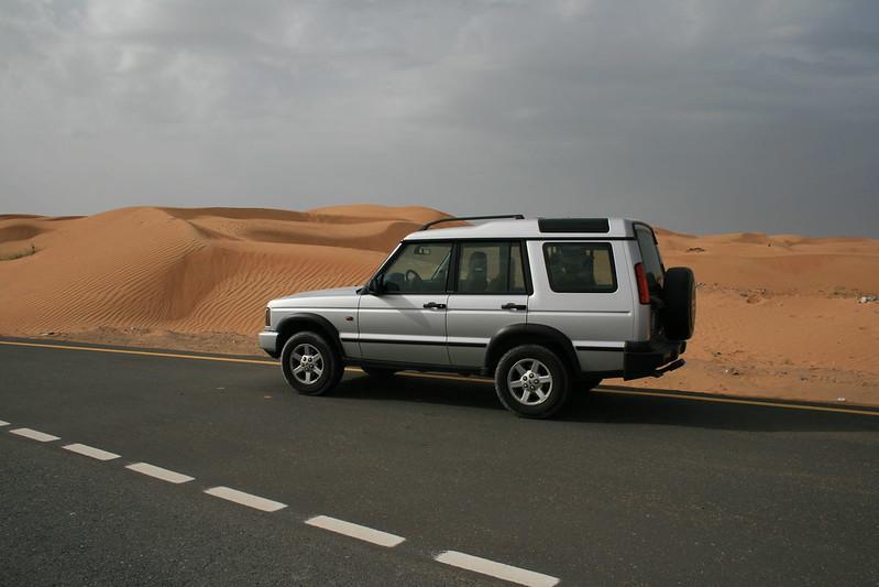 Landrover Discovery in Umm al-Quwain (UAE)