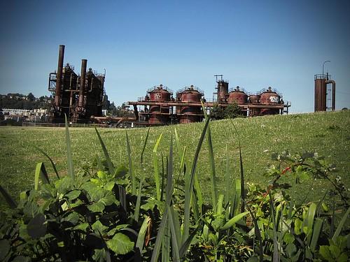 seattle usa washington rust honeymoon bokeh pacificnorthwest gasworkspark wallingford theemeraldcity canonpowershota720is