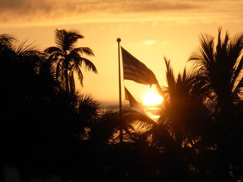 usa beach sunrise unitedstates florida flag leecounty oldglory fortmyersbeach fisherbray