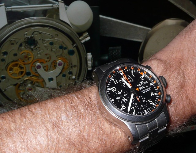 Fortis B-42 Pilot Professional Chronograph GMT