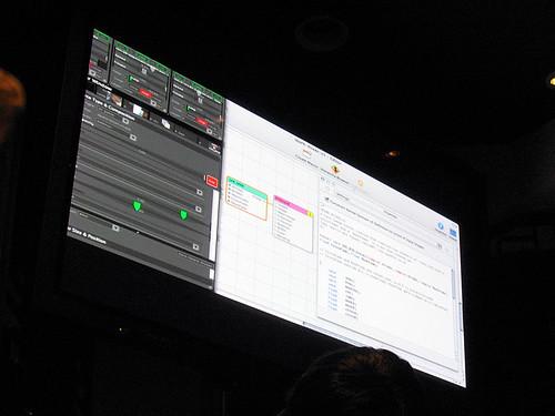 Quartz Composer + VDMX = Live Cinema - VJ Sparx | by mr prudence