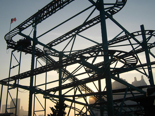 Crazy Mouse Rollercoaster by UrbanPerspectiV