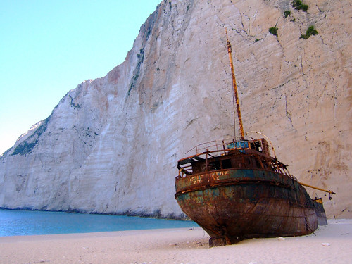 Shipwreck at Navagio   by Ghost of Kuji