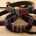 4142 Old Massai beaded Bracelets Kenya