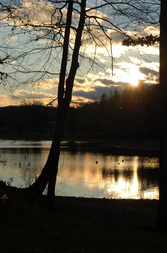 blue winter sunset lake black reflection water colors beautiful silhouette tennessee tan send serendipity sarahdavis sarendipity sarahdee