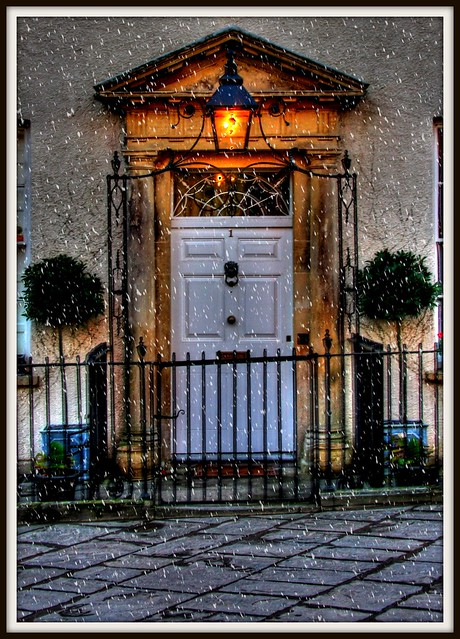 Georgian door