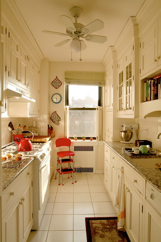 Giulia S Galley Kitchen From Apartment Therapy Link To Art