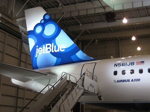 JetBlue livery reveal in Orlando | by jetblueflickr