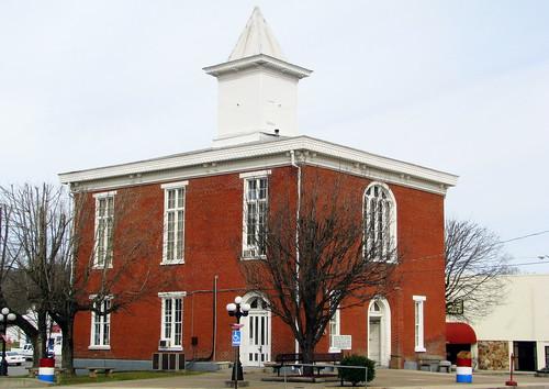 tn tennessee celina courthouse 1872 claycounty countycourthouse uscctnclay bmok tn52 bmok2