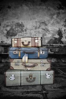 Vintage Luggage Parmiters Antiques Southsea | by geishaboy500
