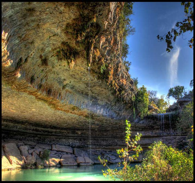 Hamilton Pool Is A Local Sinkhole Around
