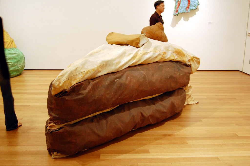 Floor Cake By Claes Oldenburg In The Museum Of Modern Art Flickr