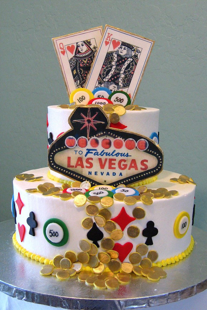 Las Vegas Birthday Cake | Viva Las Vegas Birthday Cake | Flickr
