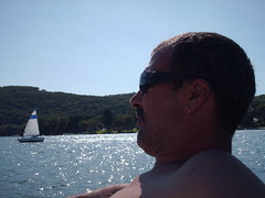 Hubby on Candlewood Lake, CT