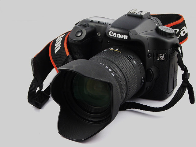 Canon 50D & Sigma 17-70mm | my new camera in all its glory