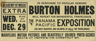 19th Year Flyer - 1911 | by The Burton Holmes Archive