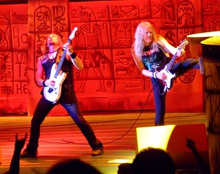 Iron Maiden @ Verizon Wireless Irvine May 31 2008 | by Anne Varak