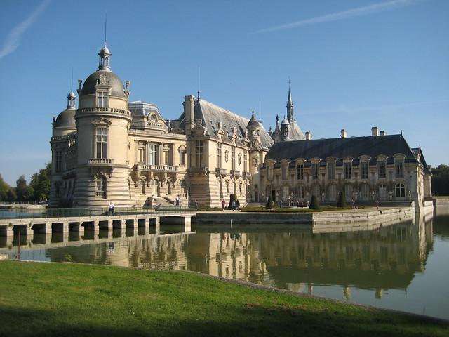 Le Château de Chantilly, France