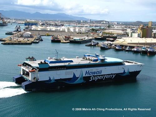 Hawaii Superferry 10-12-08 | by macprohawaii