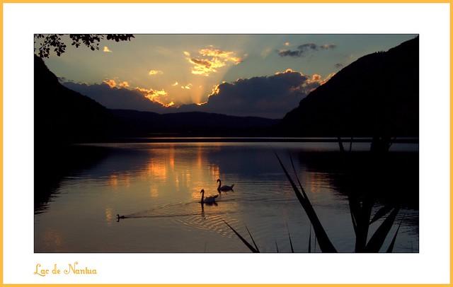 Le Lac de Nantua (Ain)
