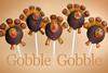 Turkey Cake Pops by Bakerella