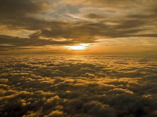 Sunrise Above Clouds (1)