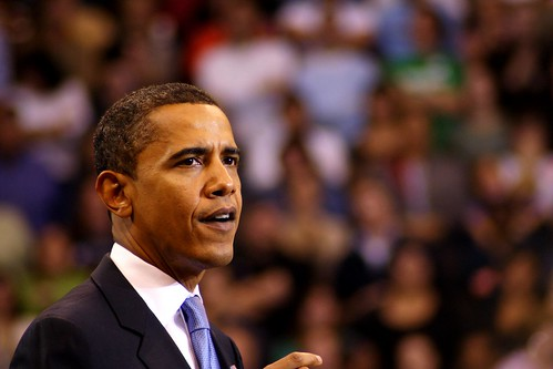 Democratic nominee Barack Obama | by Wa-J