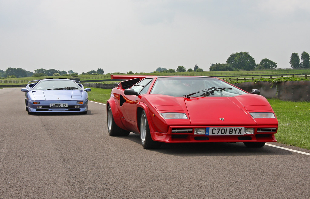Lamborghini Diablo Sv And Countach Brian Snelson Flickr