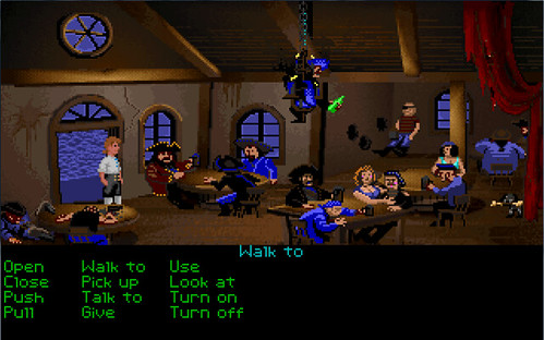 The Secret Of Monkey Island (VGA) - SCUMM BAR | At the Scumm