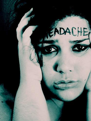 her name is headache.