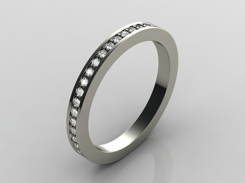 eternity ring render | by TVZ Design