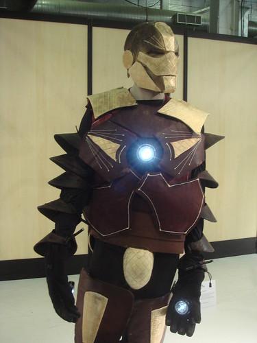 Iron Man:  Chocolate Sculpture