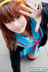 Mii as Haruhi | by neilcreek