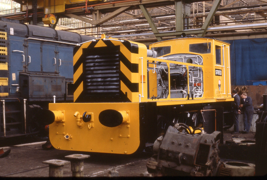 97653 Swindon Works 23-6-81