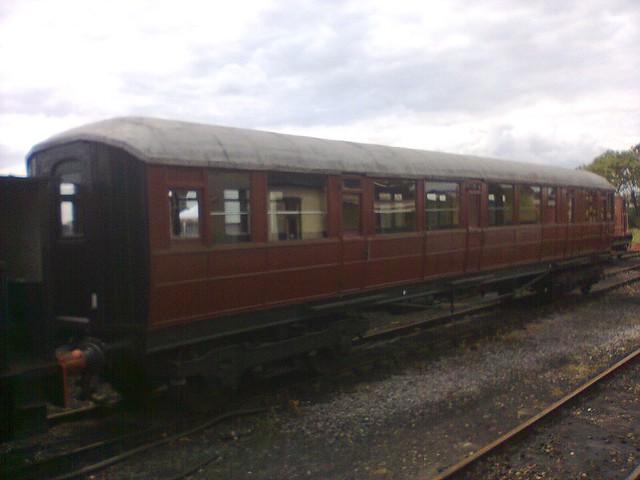 Gresley passenger carriage
