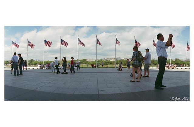 At The Washington Monument