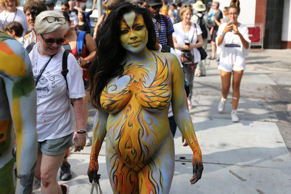 NYC Bodypainting Day 2015 - Bodypaint.me
