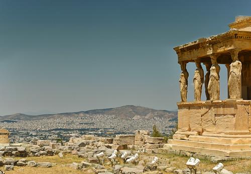 caryatids erechteion temple statues acropolis athens greece europe cityscape city monument trip nikon d750 sizuneye 24120mm nikkor gettyimages unesco worldheritage ruins